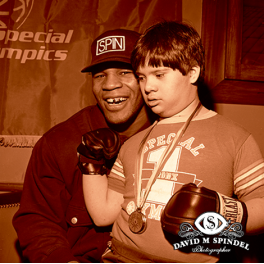 Mike Tyson Special Olympics
