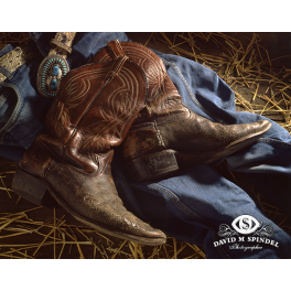 Weathered Boots