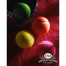 Colorful Tennis Balls